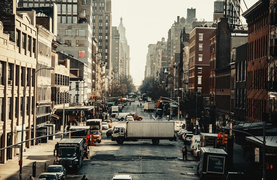 NYC Downtown Street - eDeriv Technologies