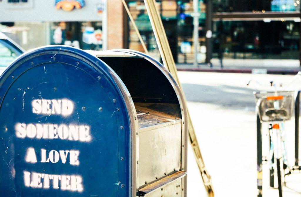 Send Someone Love Mailbox