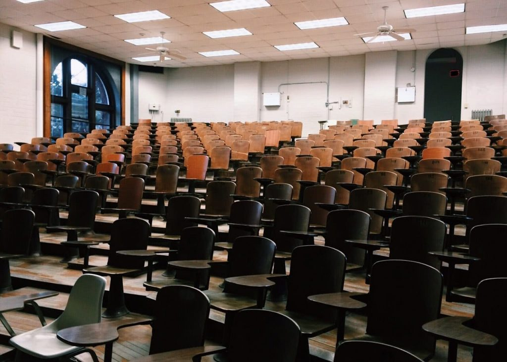 Class Room Empty Chairs