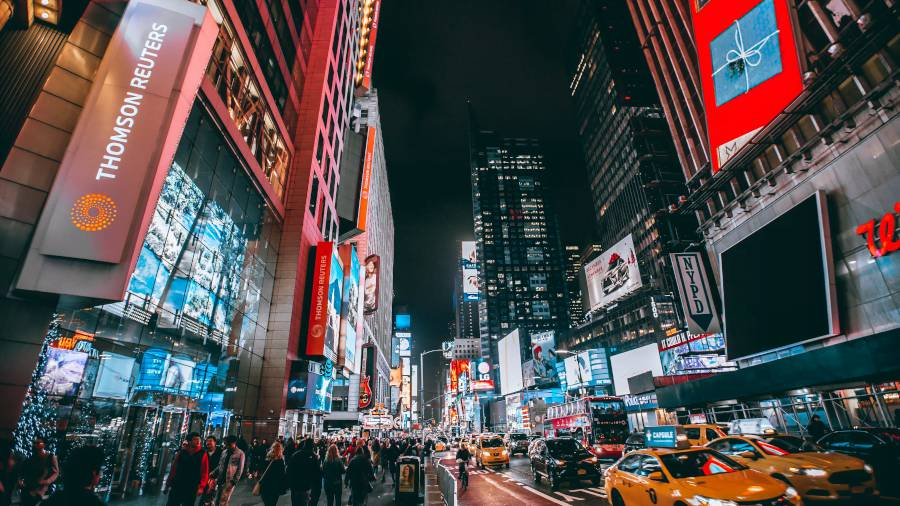 New York City Times Square Thomson Reuters